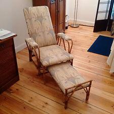 Verdadero Antik Jugendstil silla tumbona estilo Thonet extensible Heil práctica sanatorio