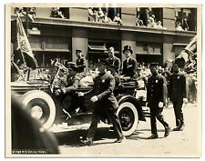 Charles Lindbergh Riding in NYC Ticker Tape Parade Picture