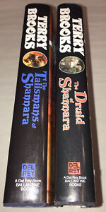 Terry Brooks Signed 1st Edition HC Books HERITAGE SHANNARA Druid Talismans