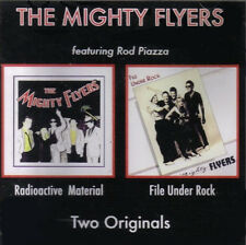"""Mighty Flyers ft Rod Piazza: """"Radioactive Material/File Under Rock"""" (2on1 CD Re)"""