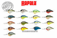 Rapala DT-10 Crankbait Basla Wood Dives to 10 FT. 2.25in 3/5oz - Pick