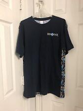 Hpnotiq XL T Shirt Navy Blue Novelty Liquor Bottles Shirt Hypnotic Tall