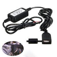 DC 12V zu 5V Motorrad USB Ladegerät Netzteil für Telefon GPS wasserdichter/ G0D0