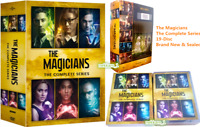 The Magicians: The Complete Series (DVD Box Set,19-Disc,Region 1, US Seller)