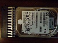 "Lot of 4 DELL 146GB 15K  6g 2.5/"" SAS SFF HDD ST9146852SS J084N 2950 1950 R900"