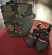 Five Ten Anasazi Pro, Women's 7.5 Us climbing shoes & 5.10 Signature Chalk Bag
