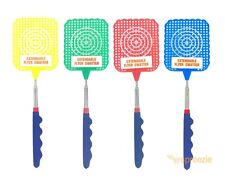 "Extendable Fly Swatter Mosquito Bug Telescopic 28"" Expand Pest Control Insects"