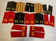 1950-60 Russian Soviet Red Army Soldier Shoulder Boards Ussr uniform lot x12