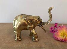 Vintage Brass Elephant, Elephant Decor