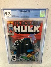 Incredible Hulk 333 CGC 9.8 White Pages / Todd McFarlane Art!