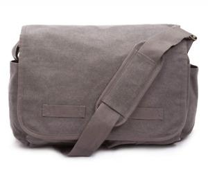 Sweetbriar Classic Messenger Bag - Vintage Canvas Shoulder for All-Purpose Use