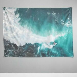 Pottery Barn Teen Canvas Surf  Tapestry - New with Tags