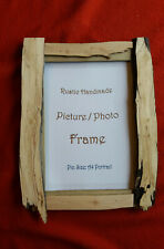 "Picture/Photo frame, Handmade reclaimed wood 16 x 12"" rustic.(A4)"