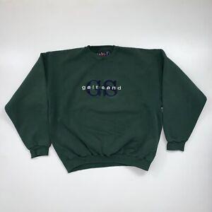 Vintage 90s Galt Sand Crewneck Sweatshirt Size XL Green