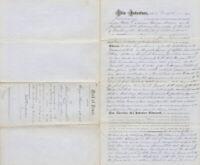FREDERICK DOUGLASS - DEED SIGNED 01/13/1883