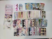 Amada 2002 CLAMP Chobits trading card LOT - anime manga specials box inserts etc