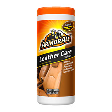 Armor All Leather 30 Wipes, Cleans Conditions and Protects