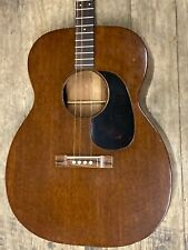 1963 Martin Acoustic Guitar 0-15t w/ Case Vintage ~Very Nice Condition~