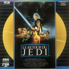 LASERDISC - STAR WARS - LE RETOUR DU JEDI - VF PAL - 1ERE VERSION - RARE
