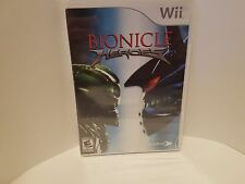 Bionicle Heroes (Nintendo Wii, 2007) ***FACTORY SEALED***