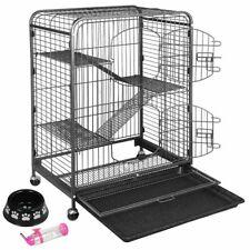 "37"" Ferret Cage Rabbit Chinchilla Rat Cage Small 4 Levels Animal House"