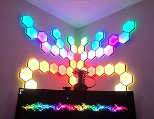 """DIY HEXALEAF NANOLEAF KIT 6.5"""" PANELS - LED's NOT INCLUDED & ASSEMBLY REQUIRED"""