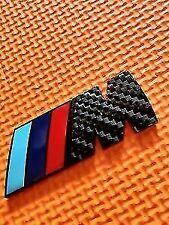 M SPORT BMW M POWER BADGE Carbon Fibre Plastc REAR BOOT BACK e46 e90 e92 e81 e60