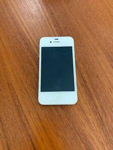 Apple Black 16 Gb Iphone 4 Model A1349 Verizon