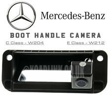 Mercedes C E Class W204 W212 Trunk Tailgate Boot Handle Reverse RearView Camera