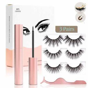 Magnetic Eyelashes Magnetic Eyeliner and Eyelashes Kit Natural False Eyelashes