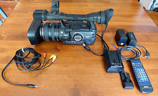 Canon XH A1 HD Video Camera  + WD-H72 Wide Converter Lens