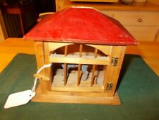LATE 1800S EARLY 1900S MADE IN GERMANY DONKEY IN A STABLE POP OUT PIP SQUEAK
