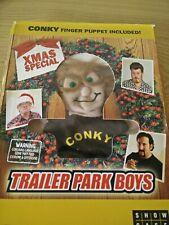 Trailer Park Boys Xmas Special Dvd ultra rare oop conky finger puppet collectibl