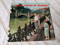 This is Japan is Sounds Flexi Disc 6 LP Records