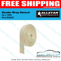 ALLSTAR Header Wrap Natural 2in x 100ft - 34247
