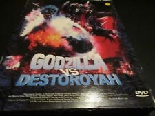 "RARE! COFFRET COLLECTOR 2 DVD ""GODZILLA VS DESTOROYAH / VS MECHAGODZILLA"""