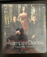 The Vampire Diaries Season 2 Trading Card Binder NO CARDS Cryptozoic