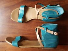 COLE HAAN WOMEN'S MARIA SHARAPOVQ LIMITED ED LEATHER SANDALS, Size 9