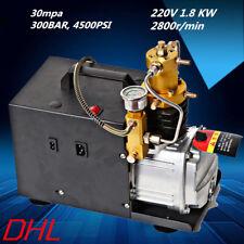 High Pressure Air Compressor Paintball 220v 1.8 KW 300BAR,4500 psi Splash Type