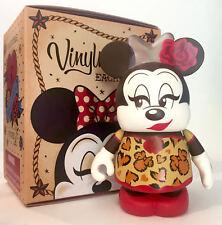 Disney Parks Vinylmation Eachez Minnie Mouse Open Eyes Cheetah Print Chaser