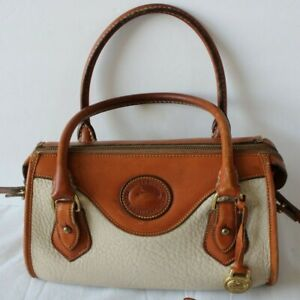vintage dooney and bourke all weather cross body purse with wallet pre owned