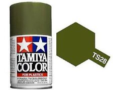 Tamiya TS-28 OLIVE DRAB 2 Spray Paint Can 3 oz 100ml #85028 Mid America Raceway