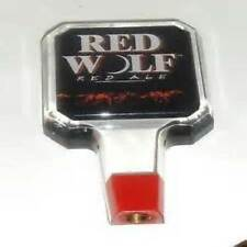 Lot of 30 ~ ~ ~ New Red Wolf Lager Bar Tap Handles
