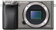 Carcasas Sony Alpha 6000 grafito gris