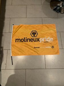 Wolverhampton Wanderers   Football Club Flag