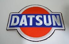 "DATSUN Cars Iron-On Automotive Car Patch 3.75"""