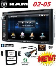 02 03 04 05 RAM BLUETOOTH TOUCHSCREEN CD DVD USB AUX BT VIDEO CAR STEREO RADIO