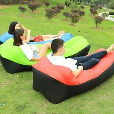 Outdoor Fast Infaltable Air Sofa Bed Inflatable Air Bag Lazy Bag Beach Air Sofa