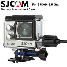 Original Sjcam Motorcycle Waterproof Case Usb Cable fr Sj7 Star Action Camera