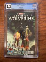 DEATH OF WOLVERINE, Mile High Comics #1, VARIANT EDITION, MARVEL CGC 9.2